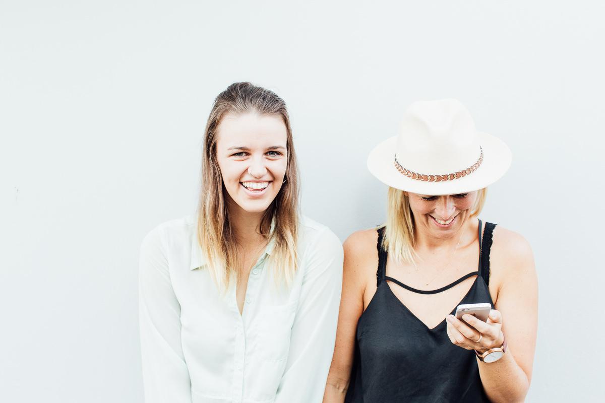 Zoe Weldon and Kate Toholka